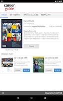 Screenshot of Career Guide
