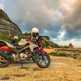 by Amrita Bhattacharyya - Transportation Motorcycles
