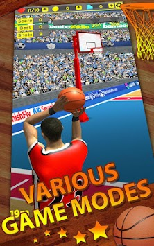 Shoot Baskets Basketball APK screenshot thumbnail 7