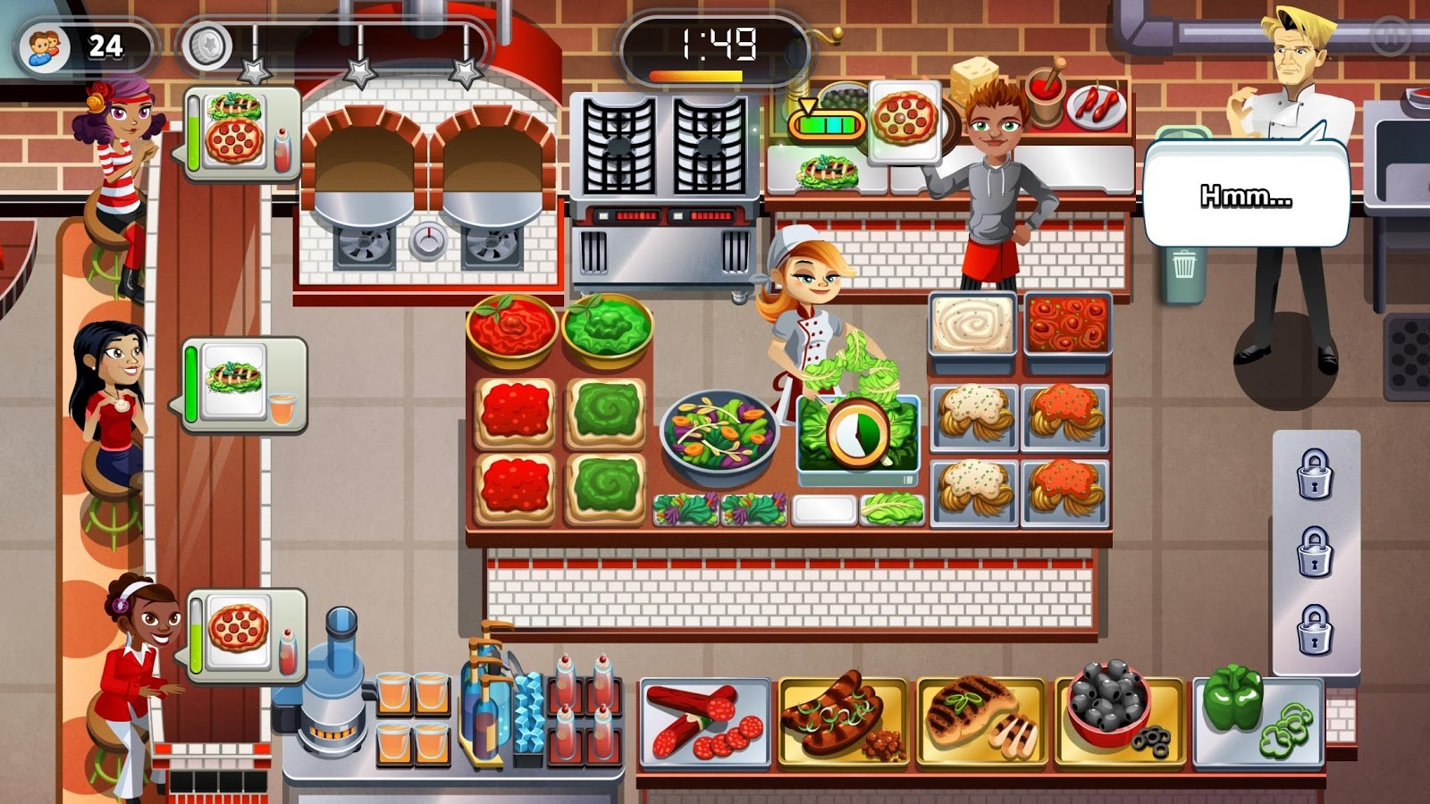 RESTAURANT DASH: GORDON RAMSAY Screenshot 14