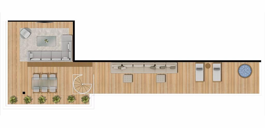 Planta UpHouse Duplex Superior