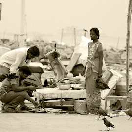 by S S Bhattacharjee - People Street & Candids
