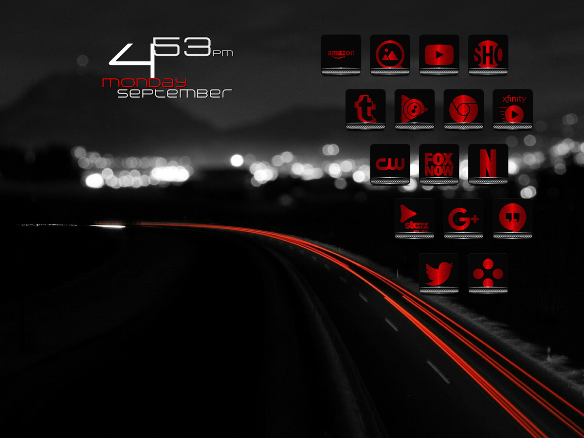 Exec Red Icon Pack Screenshot 8