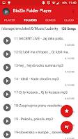 Screenshot of BinZin Folder Player