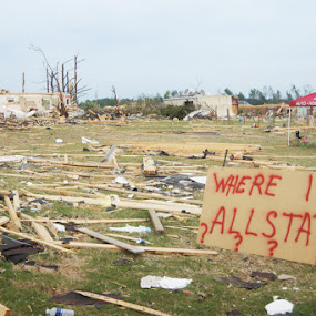 Madison County, AL by Kevin Sullivan - City,  Street & Park  Vistas ( devastation, building, tornado )
