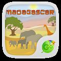 Madagascar GO Keyboard APK for Bluestacks