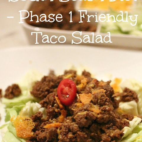 Taco Salad – South Beach Diet Phase 1 Friendly
