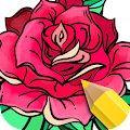 App Flowers Coloring Books APK for Kindle