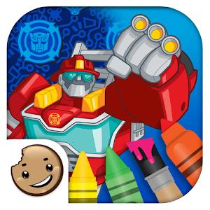 Cover art Transformers Rescue Bots
