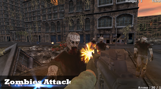 Game Zombie Attack Survival Shooter apk for kindle fire