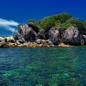 Rock & Blues by Eddie Cheever - Nature Up Close Rock & Stone ( belitong, belitung )