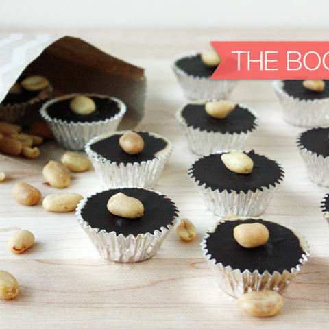 {Cookie Week} Homemade Peanut Butter Cups with Bourbon