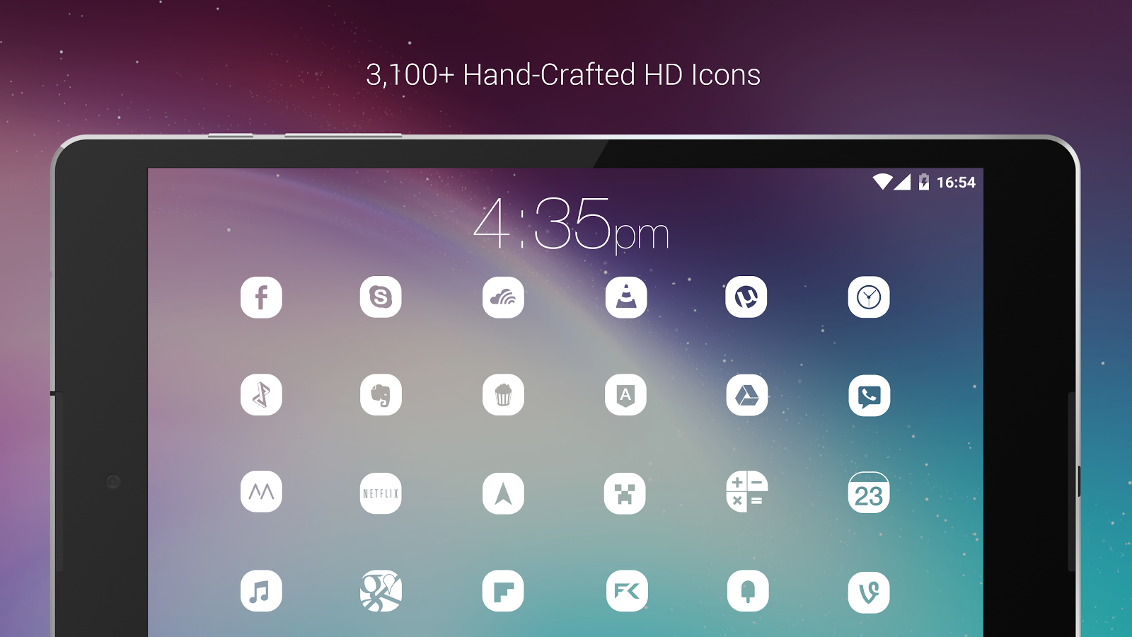 Pasty - White Icon Pack (Pro Version) Screenshot 10