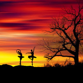 Ballet by N.T Irwanto - Digital Art People ( abstract, ballet )