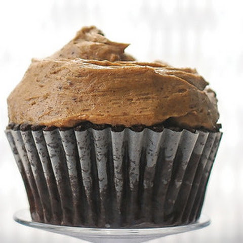 Chile Chocolate Cupcakes with Cinnamon Buttercream Frosting