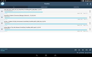 Screenshot of FrostWire - Torrent Downloader
