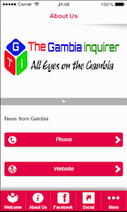 The Gambia Inquirer - screenshot