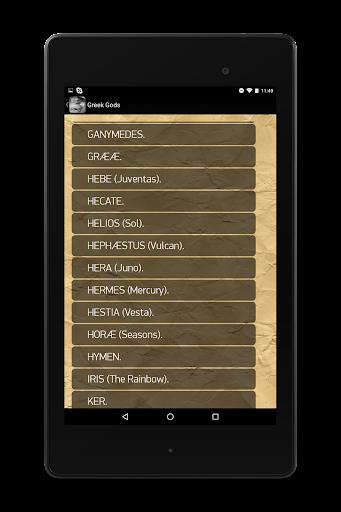Greek Gods - screenshot