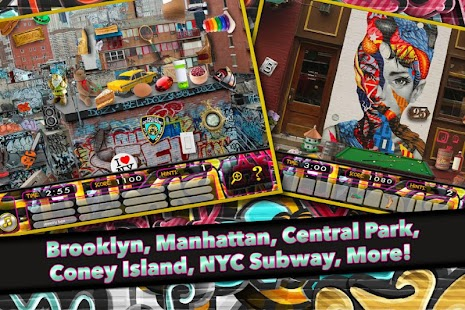 Hidden Object NYC Graffiti - screenshot