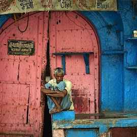 Waiting to start his daily bread !!! by Tanuj Dayal - People Street & Candids (  )