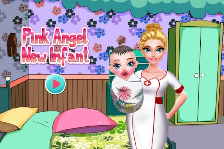 android Pink Angel New Infant Screenshot 6