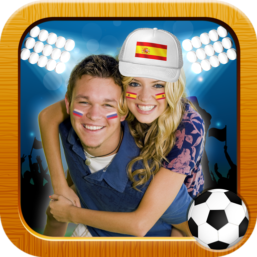 World Cup Flags 2018 Photo Montage (app)