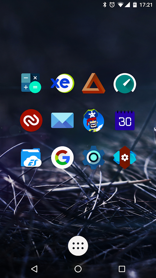 Iride UI is Dark - Icon Pack Screenshot 4