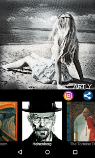 Artly : Artworks for Instagram Screenshot