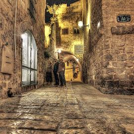 Jaffa by Dong Leoj - City,  Street & Park  Street Scenes ( street&park, neighborhoods, city )