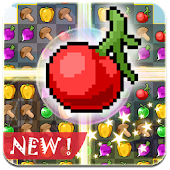 Game Pixel Fruit Jam apk for kindle fire