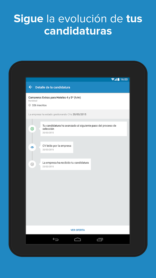 InfoJobs - Job Search Screenshot 14