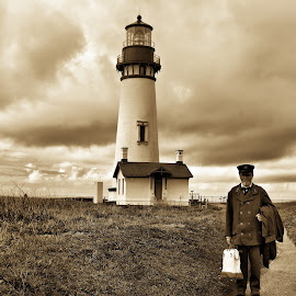 Lightkeeper by Dave Bower - People Professional People