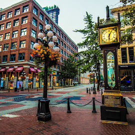 Steam Clock by Peter Murphy - City,  Street & Park  Historic Districts