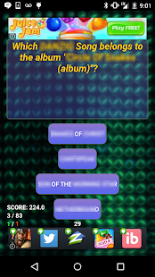 Trivia of Ma$e Songs Quiz - screenshot