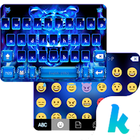 Flaming Tiger Kika Keyboard For PC (Windows And Mac)