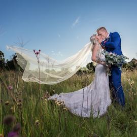 Sunset love by Lood Goosen (LWG Photo) - Wedding Bride & Groom ( wedding photography, wedding  photographer, weddings, wedding, bride and groom, bride, groom, bride groom )