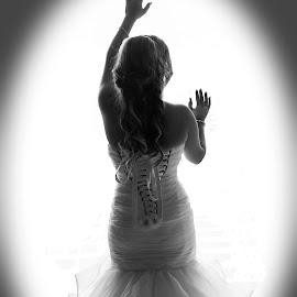 Beautiful Bride  by Faisal Enam - Wedding Bride ( canon, wedding, bride, sydney, lebaneese )