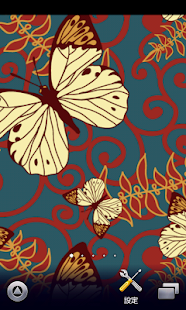 butterfly pattern wallpaper229 - screenshot