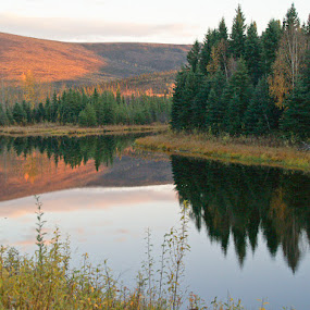 Alaskan Reflection by Karl Jones - Landscapes Waterscapes (  )