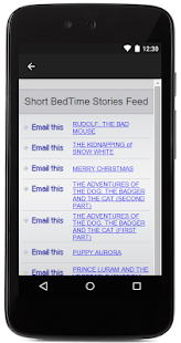 Short Bedtime Stories For Kids - screenshot