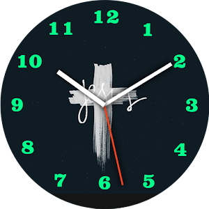 Jesus Cross Watch Face