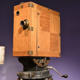 Antique Camera by Lorraine D.  Heaney - Artistic Objects Antiques