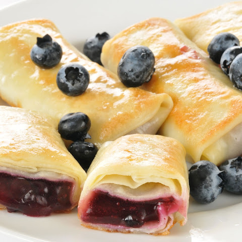 Blueberry Blintzes