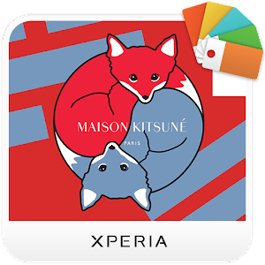 XPERIA™ Kitsuné Fox Theme