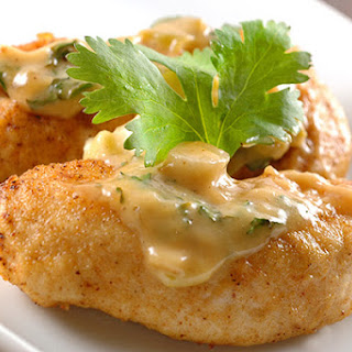 Chicken With Creamy Cilantro-Lime Sauce