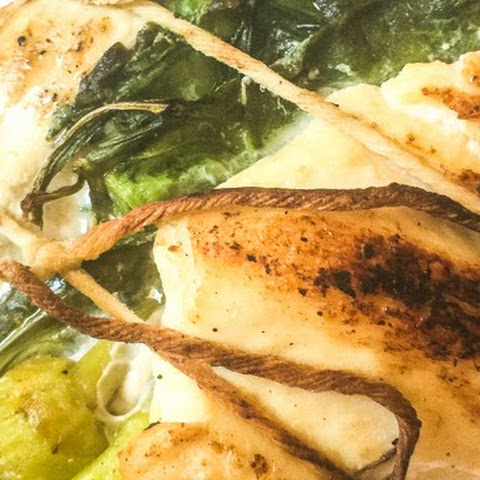 Spinach and Peperoncini Stuffed Grilled Chicken