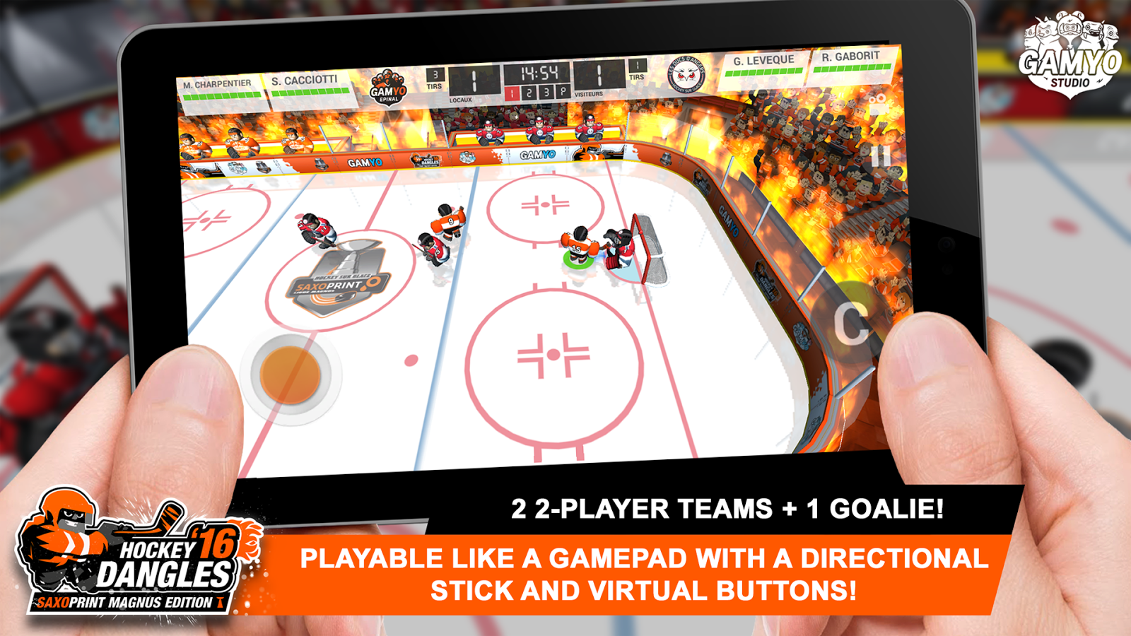 Hockey Dangles'16 Magnus Screenshot 3