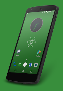 Nuclear Green CM13 Theme- screenshot thumbnail