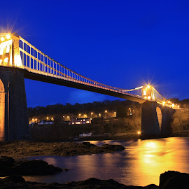 Menai Bridge by Elton Whittaker - Buildings & Architecture Bridges & Suspended Structures