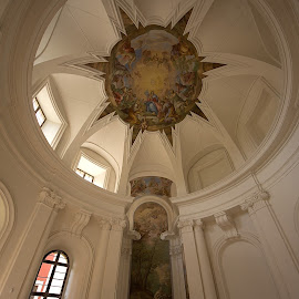 Monastery chapel by Helena Jirasová - Buildings & Architecture Other Interior ( monastery chapel )
